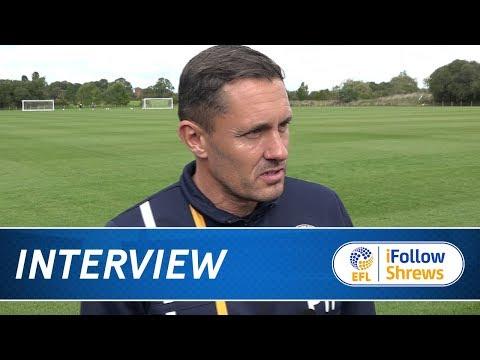 iNTERVIEW | Paul Hurst pre Southend - Town TV