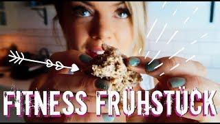 Das ULTIMATIVE Fitness Frühstück 😋 KUCHEN gesundes Frühstücksrezept für Diät & Muskelaufbau Protein