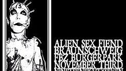 Alien Sex Fiend - Braunschweig 1987