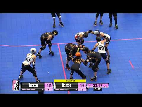 WFTDA Roller Derby - Division 2, Pittsburgh - Game 14 - Tucson vs Boston