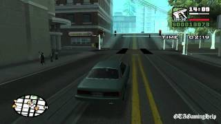 GTA San Andreas - Mission 38 - 555 We Tip (PC)