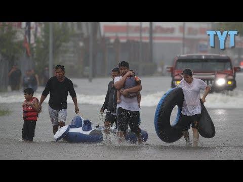 "Corporate Media ""STUNNED"" by Hurricane Harvey"