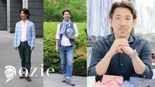 ozieチャンネル(シャツを中心としたファッションについてあれこれお話しします)