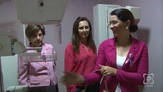 Outubro Rosa: vereadoras fazem mamografia no Centro da Mama