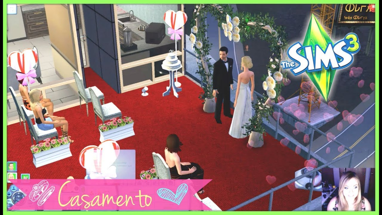 the sims 3 festa de casamento epis dio 12 youtube. Black Bedroom Furniture Sets. Home Design Ideas