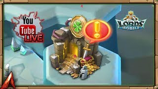 Lets Play Kingdom Tycoon and Get Luck Tokens! Lords Mobile
