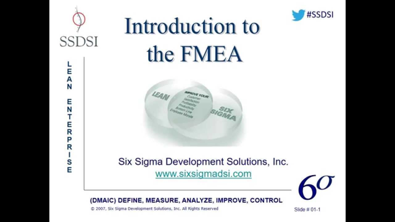 Introduction to the fmea webinar pre recorded youtube introduction to the fmea webinar pre recorded six sigma xflitez Choice Image