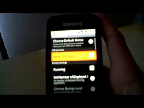 How to have multitasking on android 2.1(samsung galaxy spica)