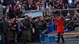 Репортаж о концерте Аллы Пугачёвой в Вологде (2001)