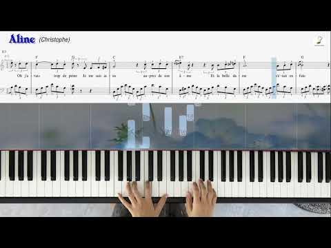 Aline | Piano solo | Linh Nhi