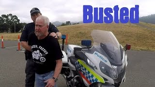 Don't try to run from a BMW R1200RT-P Police Motorcycle