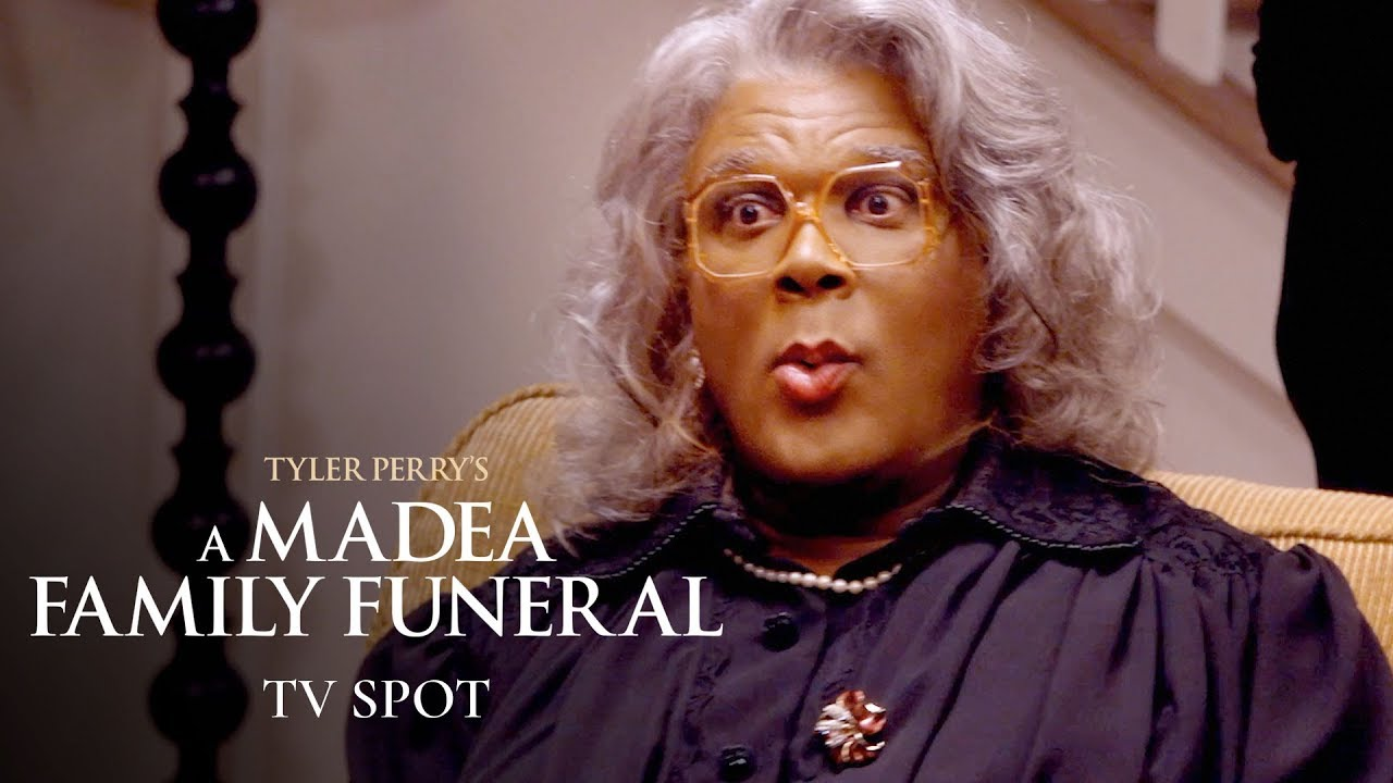 """Download Tyler Perry's A Madea Family Funeral (2019) Official TV Spot """"Survive"""" – Tyler Perry, Cassi Davis"""