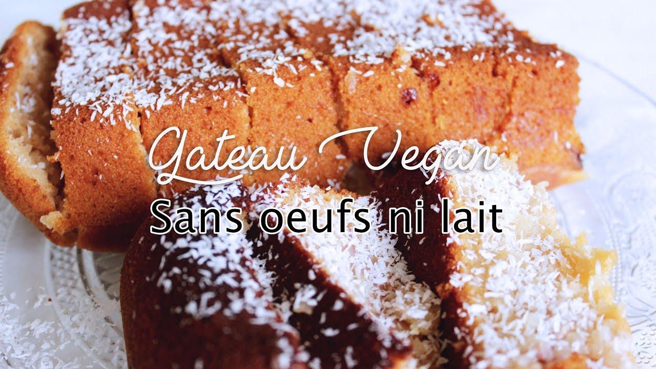 gateau vegetarien sans oeuf