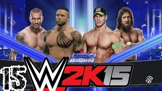 WWE 2K15 Türkçe Oynanış | Sampiyon adaylari belli oluyor | 15.Bölüm | Kariyer