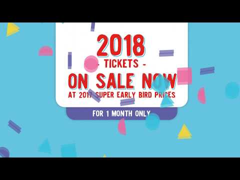 SUMMER SALE - 2018 Tickets On Sale Now!