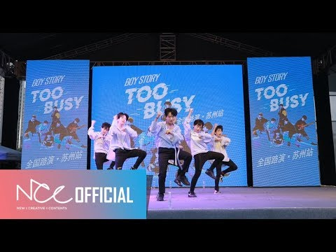 """BOY STORY TOO BUSY BUSKING In Suzhou - BTS """"MIC Drop"""" Cover"""