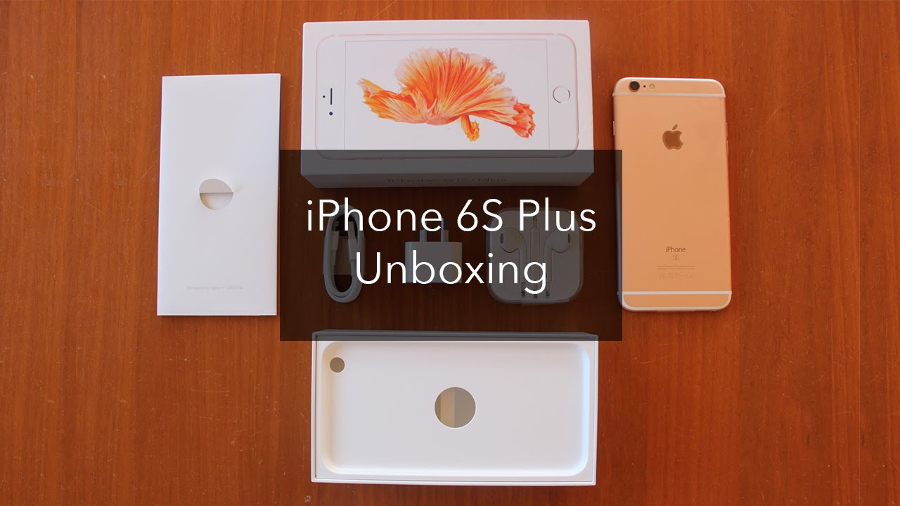iphone 6s youtube iphone 6s plus gold unboxing 11515