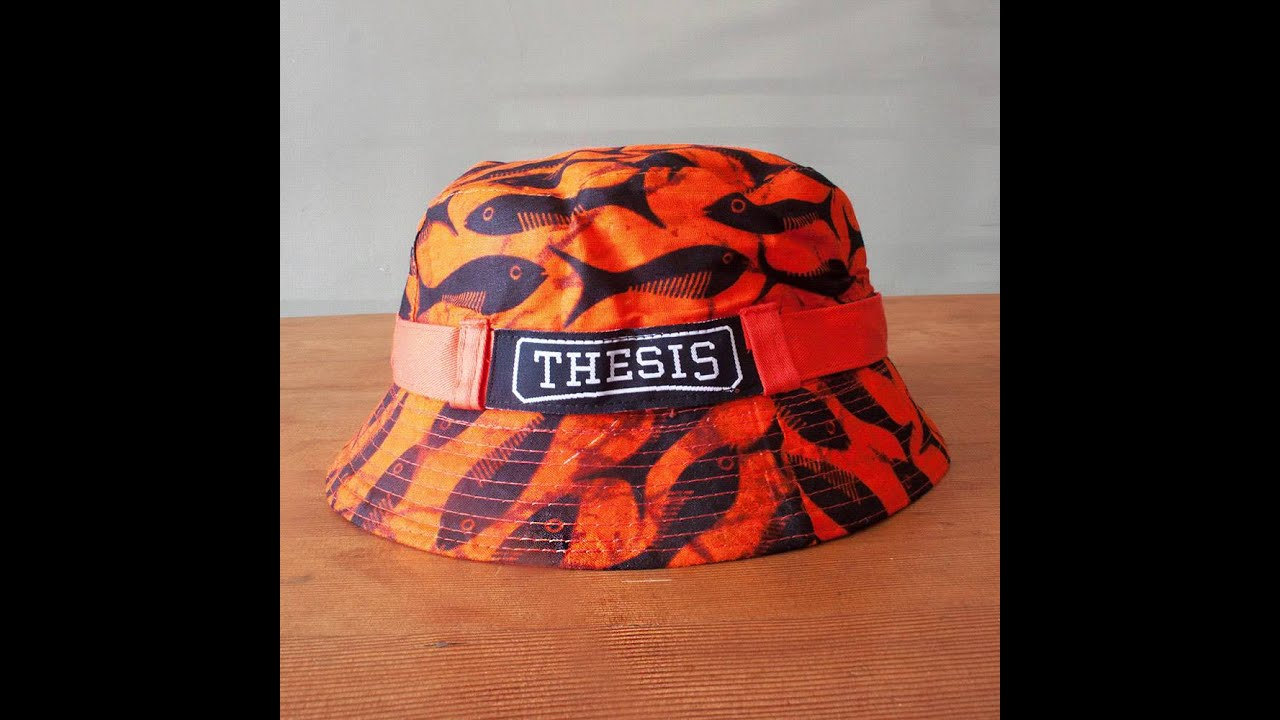 Thesis Bucket Hats - Thesis Title Ideas For College