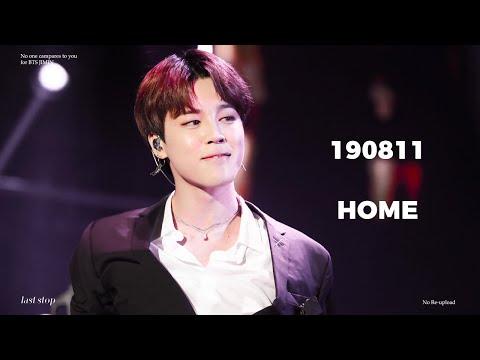 [4K] 190811 HOME - 방탄소년단(BTS) 지민 직캠 JIMIN focus @ lotte family concert 2019