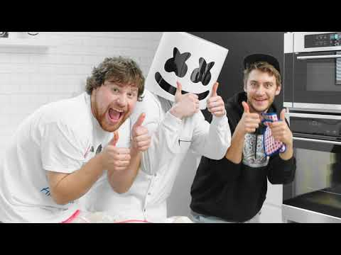Cover Lagu Spicy Hot Wing Challenge! ft. Nick Colletti and Casey Frey | Cooking with Marshmello stafamp3
