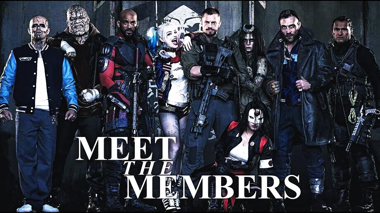 Suicide Squad L Meet The Members Youtube