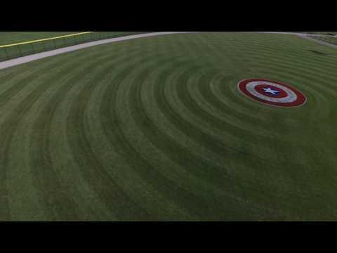Dodd's Park Ball Fields in Champaign, IL. video#2