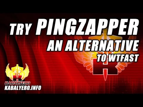 Try Pingzapper, An Alternative To WTFast (Not Sponsored) - YouTube