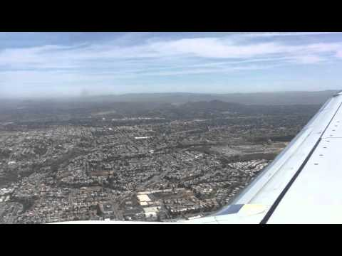Landing in San Diego international airport