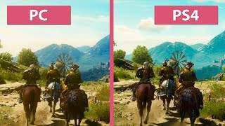The Witcher 3: Blood and Wine – PC vs. PS4 Graphics Comparison