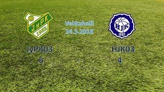 JyPK03 - HJK03, harjoituspeli Jyväskylä 24.3. 2018