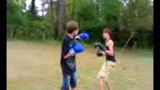 yard fights Austin Amaker 4