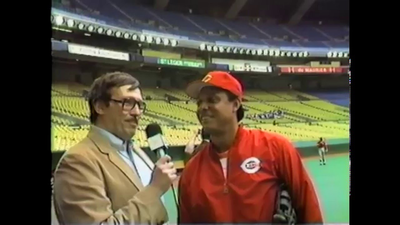 "Former Montreal Expo Tony Perez at The Big ""O"" - 1985"