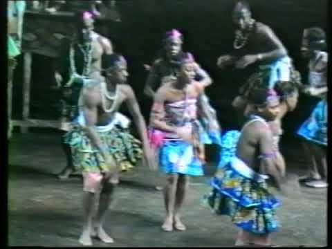 The Gahu Dance at the Ghana National Theatre   Doovi