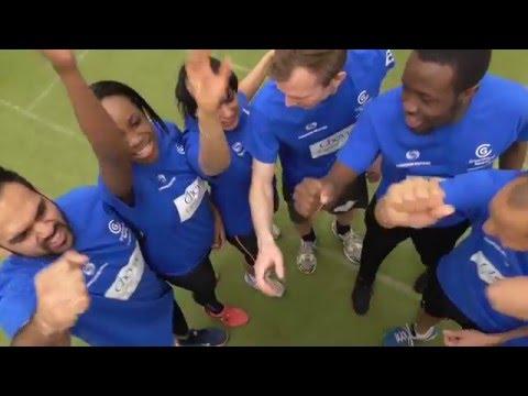 Greenhouse Sports - Charity Dodgeball 2016. Team Cheyne Capital.
