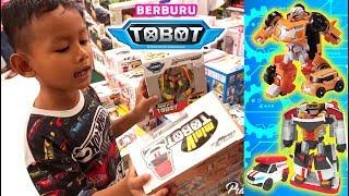 Berburu Tobot X Evolution dan Tobot V, Ketemu Tobot Zango dan Rocky