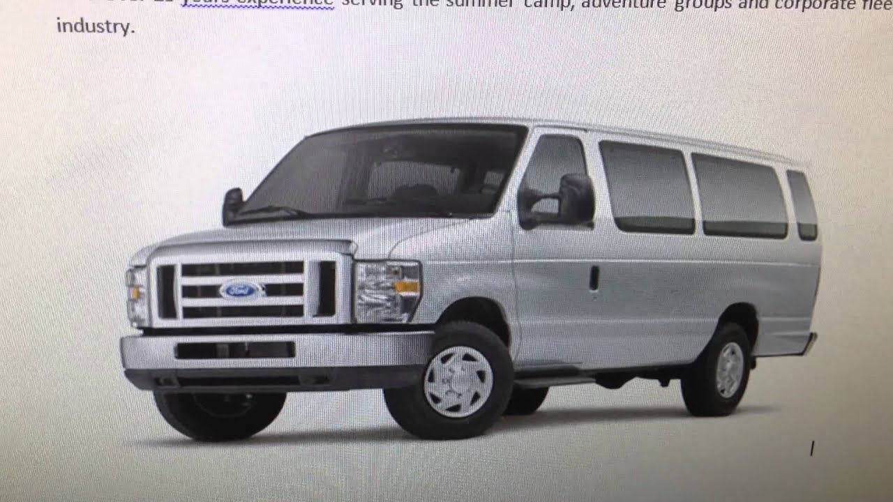 15 Passenger Van Rental Kansas City >> Best 12 Passenger 15 Passenger Van Lease And Rental Review