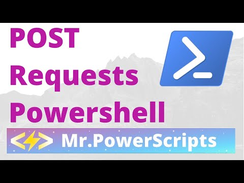 POST Request to REST API with Powerhsell ! - YouTube