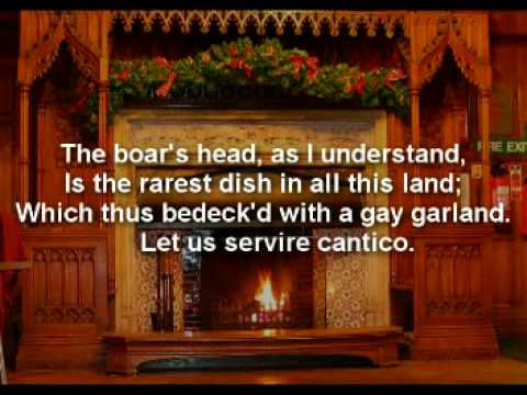 The Boar's Head Carol.mpg