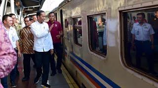 [4.61 MB] Presiden Jokowi Tinjau Arus Mudik di Stasiun Pasar Senen, Jakarta, 31 Mei 2019