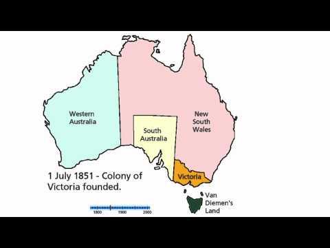 Territorial History of Australia