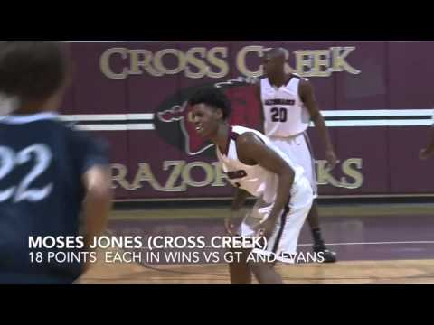 Moses Jones: Cross Creek, class of 2016