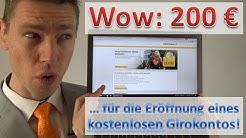 Commerzbank: 200 € für Neukunden!