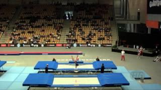 HES Bartlomiej (POL) - 2015 Trampoline Worlds - Qualification TR Routine 2