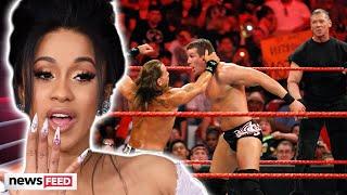 Cardi B's BIZARRE Wrestling \