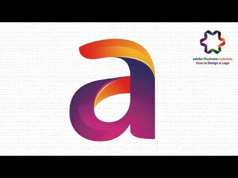 Professional Letter Logo Design / Text Effect / Adobe illustrator Logo Design Tutorial for beginners