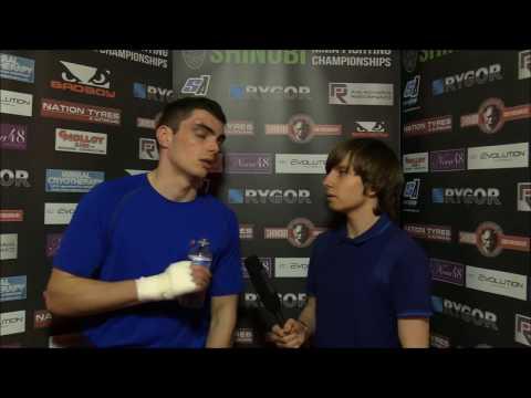 Adam Cullen SHINOBI WAR 10 Post Fight Interview