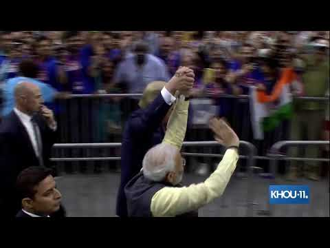 LIVE COVERAGE: President Trump, prime minister of India attending community summit in Houston
