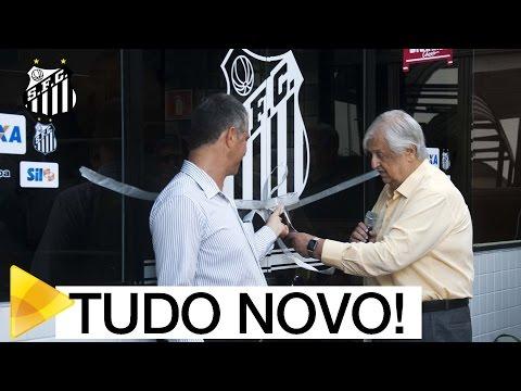 Conheça a Fábrica de Campeões, a nova academia do Santos FC