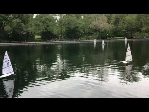 Central Park Model Yacht Rentals