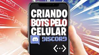 Criando Bot Discord Pelo Celular #DiscordBotDesigner